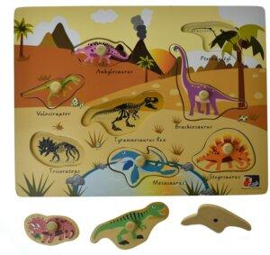 Desert Dinosaur peg puzzle