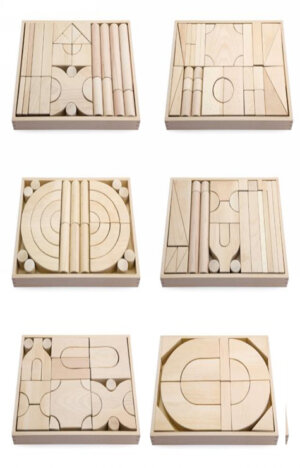 Natural Wooden Blocks 6 Styles
