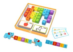Wooden Learning block box