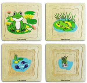 frog 4 layer puzzle