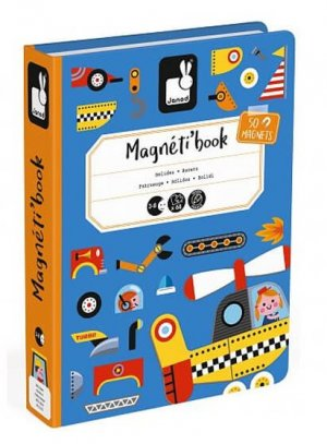 Janod Racers Magneti'book