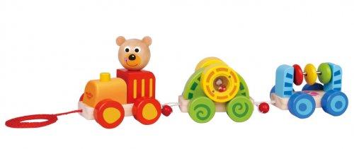 Pull Along Baby Bear Train
