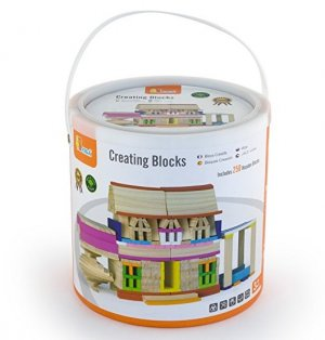 VG Wooden Creative blocks 250 pc