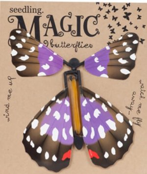 Rubberband Powered Magic Butterfly