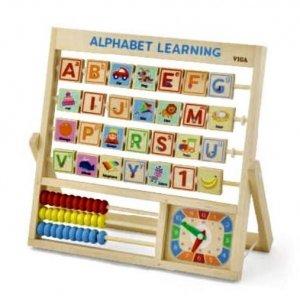 Alphabet Learning plus Clock
