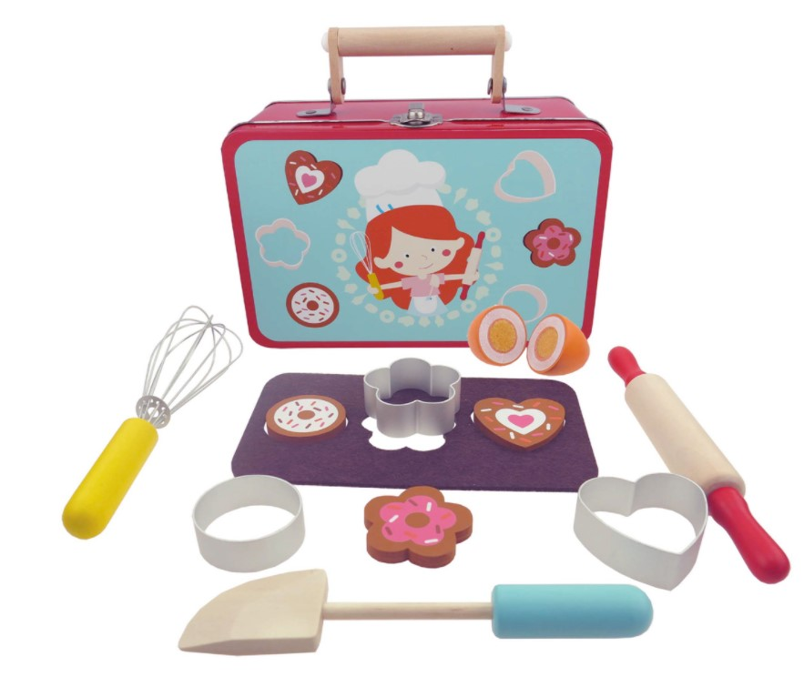 Baking Playset in a Tin Suitcase NG23397