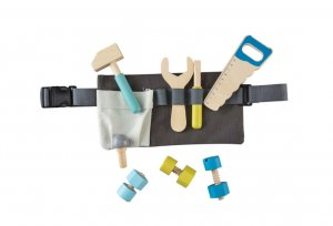 Tool Belt with Wooden Tools