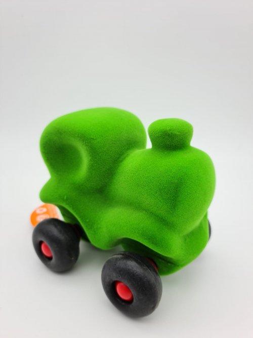 Rubbabu Little Train Green