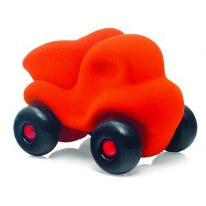 Rubbabu Little Dump Truck Orange