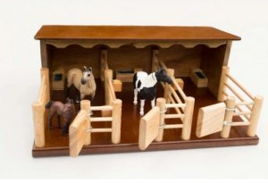 Three Horse Stable 1