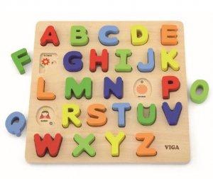 Alphabet Uppercase raised puzzle
