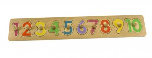 NUMBER PEG PUZZLE BOARD 2
