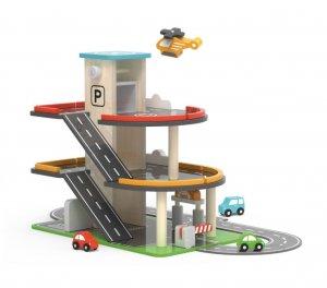 VIGA 3 Level Parking & Fuel Station