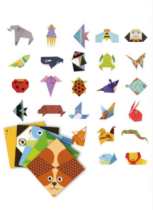 Amazing Origami Animals Activity Set