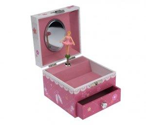 ANNA BALLERINA SQUARE MUSIC BOX