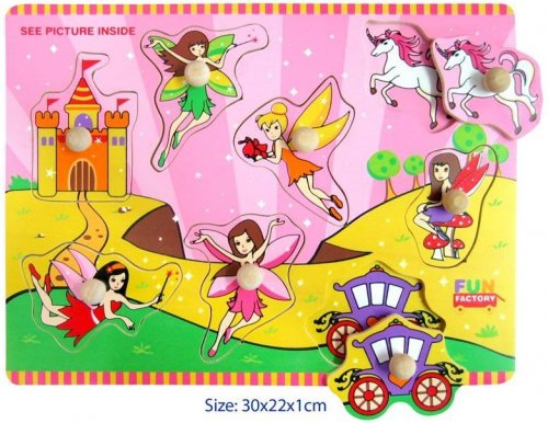 Fairy Puzzle with knobs