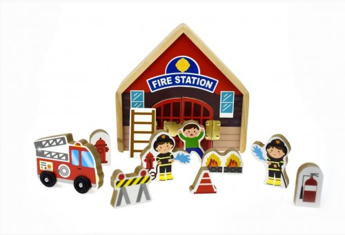 Fire Station Playset 1