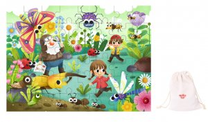 INSECT JIGSAW PUZZLE 48PCS