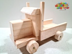 BUILD YOUR OWN TOY TRUCK