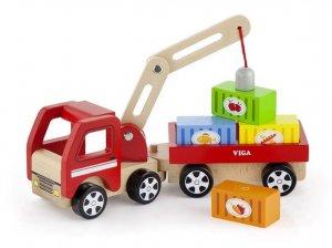 VG Wooden Crane Truck